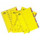 Bantex divider manilla A4 1-31 coloured