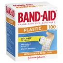 Band Aid plastic strips box 100
