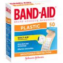 Band Aid plastic strips box 50