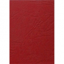 Binding cover leathergrain A4 pack 100 red