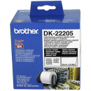 Brother dk-22205 continuous length label 622mm x 30m