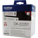 Brother dk-22251 continuous length label 62mm x 15.24m