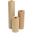 Kraft paper roll 65gsm 900mm x 340m brown
