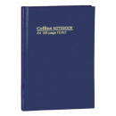 Collins notebook A4 short 168 page feint