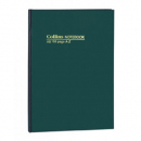 Collins notebook A4 short 168 page A-Z index green