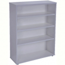 Rapid worker bookcase 3 shelf 900 x 315 x 1200mm grey