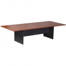 Rapid worker boardroom table 3200 x 1200 x 730mm cherry