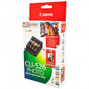 Canon cli526 inkjet cartridge value pack
