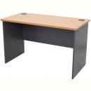 Rapid worker desk open 1200 x 600mm beech/ironstone