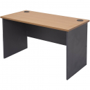 Rapid worker desk open 1800 x 750mm cherry/ironstone