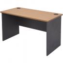 Rapid worker desk open 1800 x 750mm cherry/ironstone