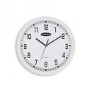 Carven wall clock 300mm white rim