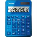 Canon ls-123m calculator dual power 12 digit metalic blue