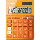 Canon ls-123m calculator dual power 12 digit metalic orange