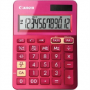 Canon ls-123m calculator dual power 12 digit metalic pink