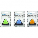 Carl mc56 magnetic clip blue