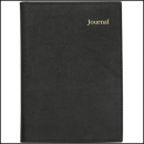 Collins vanessa pvc journal notebook quarto 200 page black
