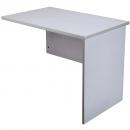 Rapid vibe open desk return 900 x 600 x 730mm grey