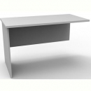 Rapid vibe desk wing return 900mm grey