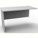 Rapid vibe desk wing return 900mm grey