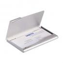 Durable aluminium business card box