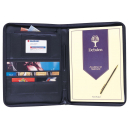 Debden conference portfolio A4 zippered black