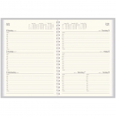 Collins vanessa wire diary A4 week to view 1 hour black
