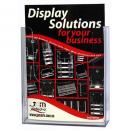 Deflecto brochure holder A4 portrait wall mount standard flat