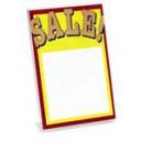 Deflecto sign holder A5 portrait slanted