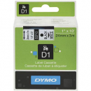 Dymo D1 label tape 24mm black on white