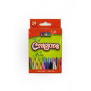 Dats crayons assorted colours pack 24