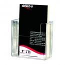Deflecto business card holder wall mounted