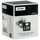 Dymo labels high capacity shipping 104 x 159mm 1 x roll 220 white