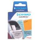 Dymo lw labels suspension file 12 x 50mm 1 x roll 220 white