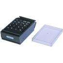 Esselte business card box 600 capacity