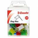Esselte 45111 flag pins assorted pack 50