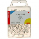 Esselte pins push pack 50 clear