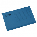 Esselte handy tab suspension files foolscap blue pack 10