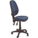Rapidline operator chair medium back 2 lever navy blue