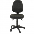 Rapidline operator chair high back 3 lever adk charcoal