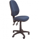 Rapidline operator chair high back 3 lever navy blue