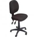 Rapidline operator chair medium back 3 lever sf black