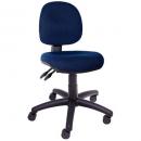 Rapidline operator chair medium back 3 lever navy blue