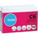 Tudor C6 envelopes peal n seal secretive 114 x 162mm white tray 100