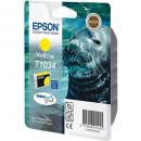 Epson t1034 inkjet cartridge high yield yellow
