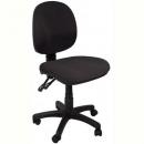 Rapidline et20 operator chair medium back 2 lever black