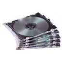 Fellowes cd jewel case slimline black