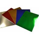 Rainbow foil board 510 x 640 assorted