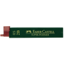 Faber castell pencil leads 0.5mm tube 12 2B