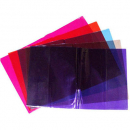 Cumberland book covers 225 x 175mm tint coloured pack 5